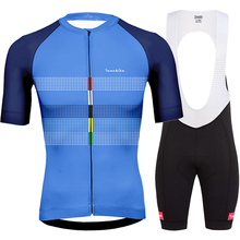 Bretelle ciclismo ropa de hombre 2019 summer Runchita go pro cycling clothing kits men short sleeve sets roupa