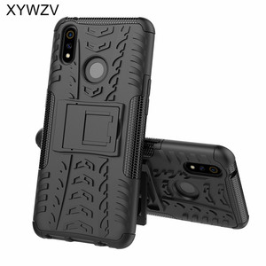 Image 2 - OPPO Realme 3 Pro Case Shockproof Cover Armor Soft PU Silicone Hard PC Phone Case For OPPO Realme 3 Pro Back Cover Realme X Lite