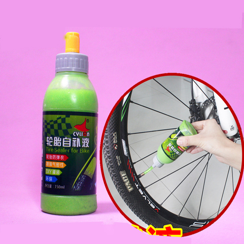 1 Bottle 150 ML MTB Bike Wheel Tire Tool Kits Tyre Sealer Protection Puncture Sealant for Bike Motorcycle Tire Patch Repair Glue