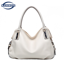 Bolsos Weiß Crossbody Tasche Handtaschen Frauen Berühmte Marken Weichen Reißverschluss Leder Handtasche Messenger Bags Für Frauen 2016 Sac Femme B039