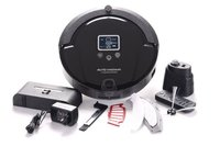 Free Shipping Vacuum Robot Cleaner Long Working Time Charge Base And Sonic Wall Low Noise,Vacuum Cleaner
