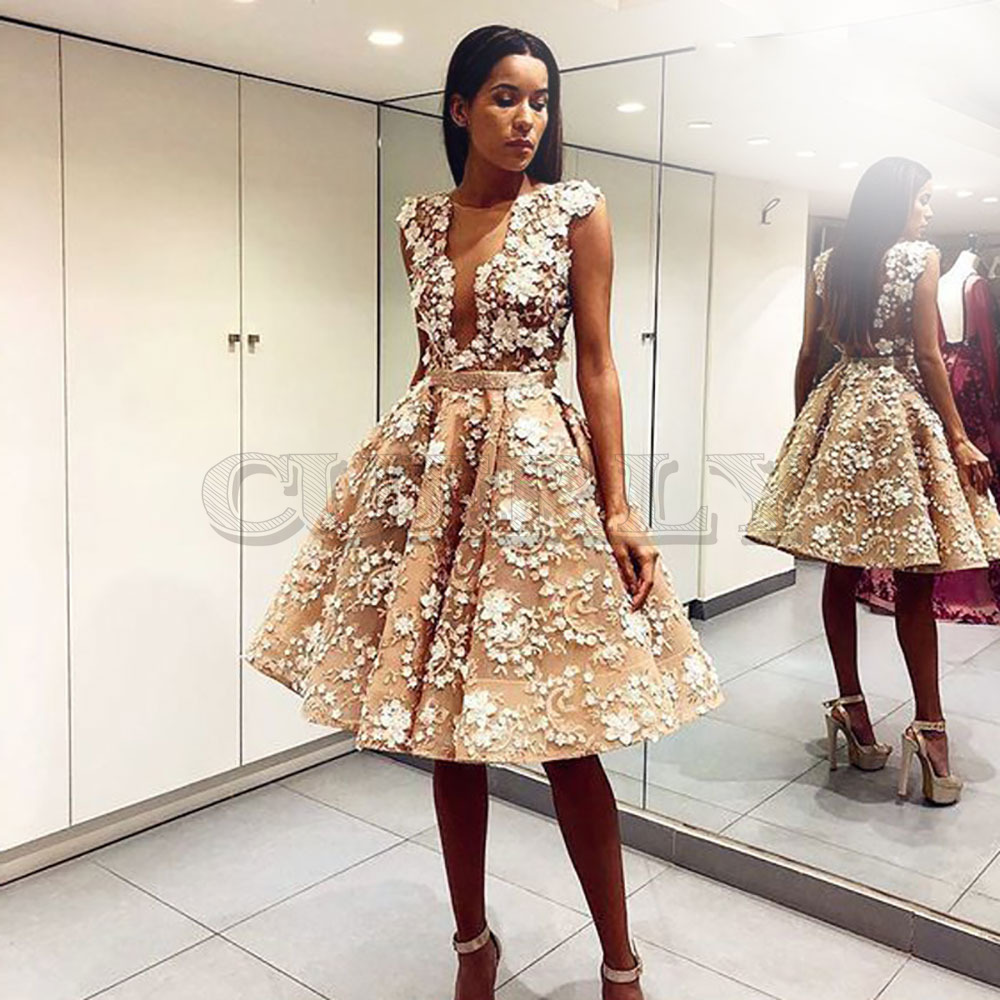 CUERLY Women Summer Dress backless embroidery Sleeveless Floral Embroidery High Quality Elegant Women 39 s Party Dresses in Dresses from Women 39 s Clothing