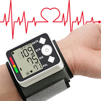 Blood Pressure Meter Monitor 2017 Digital Wist Portable Automatic Sphygmomanometer For Home Health Care Measurement