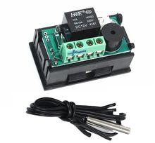 DC12V  50 110 مئوية W1209WK الرقمية ترموستات التحكم في درجة الحرارة الذكية الاستشعار
