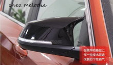 OEM M3 Style ABS Car rearview outside Mirror Covers Caps For BMW 3 series 2013 2015