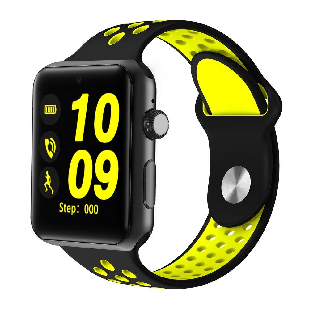KIWITIME Bluetooth smart watch iwo 1:1 smartwatch case voor apple iphone en samsung xiaomi android telefoon niet apple watch IWO 2 3-in Smart watches van Consumentenelektronica op  Groep 1