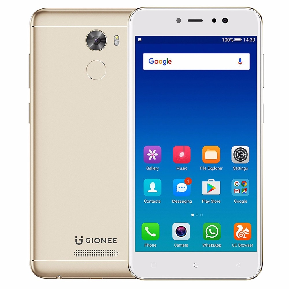 Gionee A1 Lite 5.3 Inch IPS Screen Mobile Phone Android 7.0 MTK6753V Octa Core 3GB RAM 32GB ROM 4G Smartphone 20.0MP Cam 4000mAh
