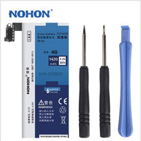 100% Original NOHON 1420mAh High Quality Battery For iPhone 4 4G NOHON Original Battery+ Tools+track number
