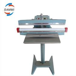 Pedal foot impules plastic bag sealing machine, direct heat sealer, xax sealing length 350mm