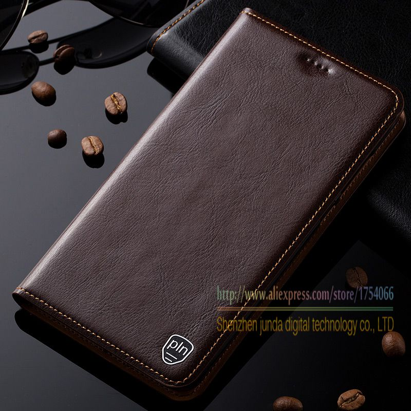 Retro Genuine Leather Flip Stand Case For Nokia 5 Nokia5 2017 5.2 Luxury Leather Magnetic Cover & Card Holder