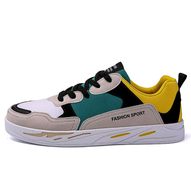 Low top sneakers men running shoes 2018 Male Lace up skateboarding shoes sneakers Classic Mixed Colors Men Walking Shoes
