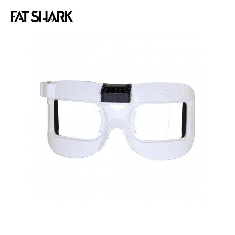 Faceplate Branco Máscara V2 Equipados Com Ventilador para Dominador Fatshark V2 V3 HD HD2 HD3 FPV Goggles Peça De Reposição Accs