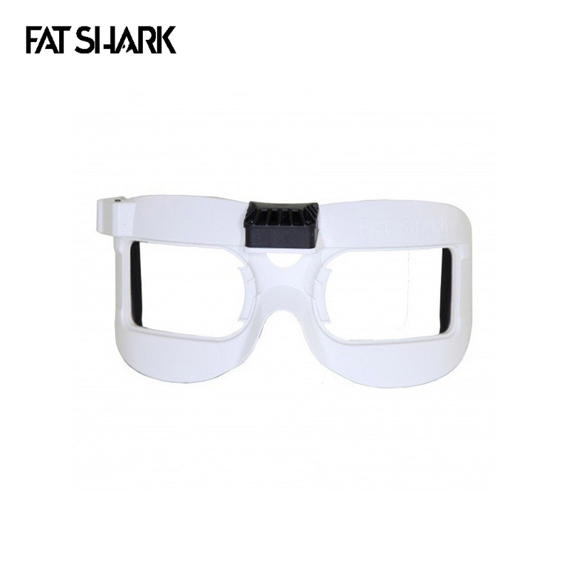 цена на Fatshark White Faceplate Mask V2 With Fan Equipped for Dominator V2 V3 HD HD2 HD3 FPV Goggles Spare Part Accs