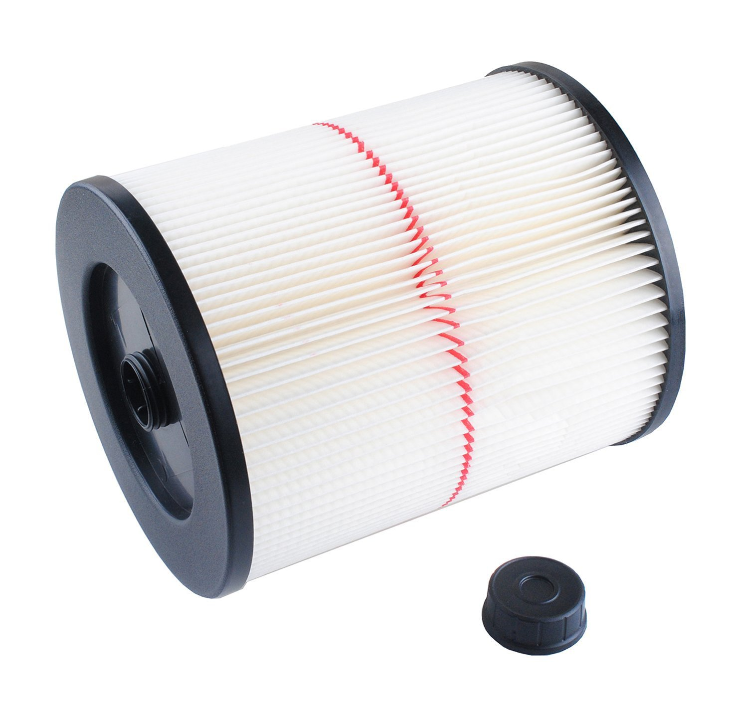 1pcs Filter for Shop Vac Filter Craftsman 17816, 9-17816 Replacement Wet Dry Vac Air Filter for Shop Vacuum Cleaner Parts мешки бумажные shop vac 20 30л 5шт 9066129