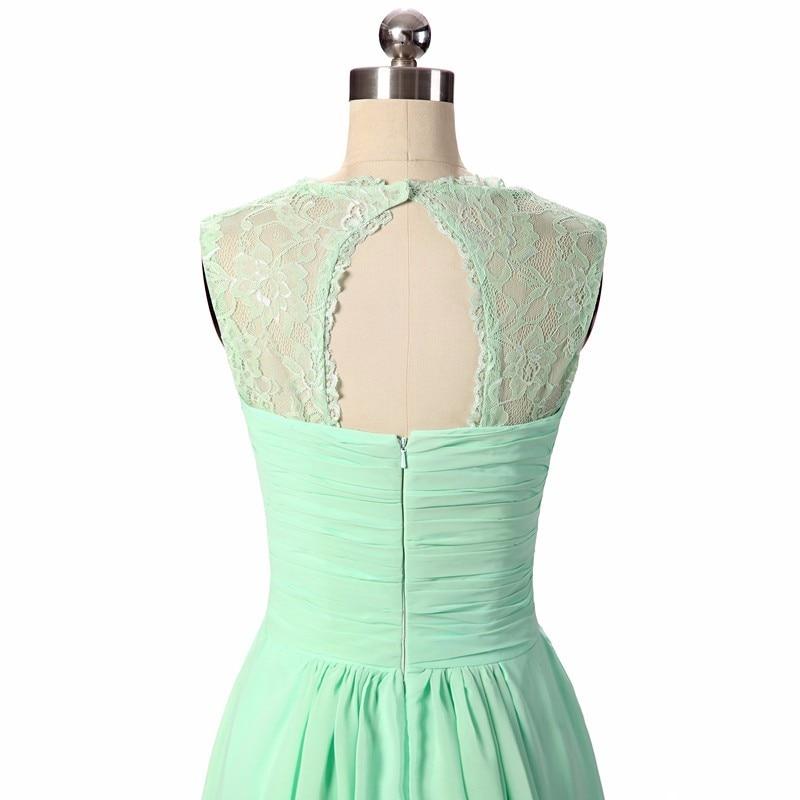 Bridesmaid Dresses 2019 Coral Burgundy Mint Navy Färg Av Skulder - Bröllopsfestklänningar - Foto 4