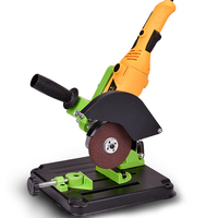 Polisher Stand Power Rotary Tools Accessories Bench Drill Press DIY Tool Double Clamp Base Frame Holder