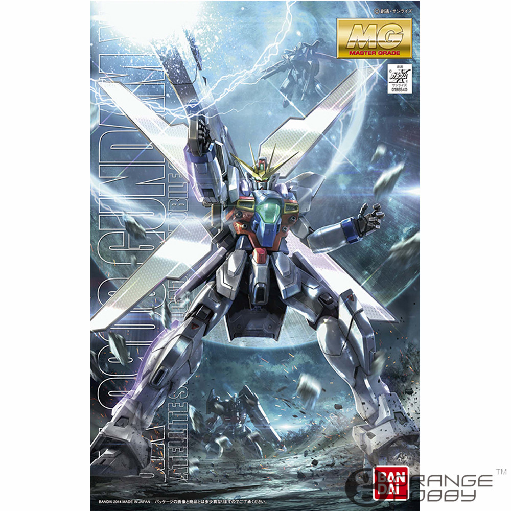 OHS Bandai MG 177 1/100 GX-9900 Gundam X Mobile Suit Assembly Model Kits bandai sw 1 12 stormtrooper assembly model kits