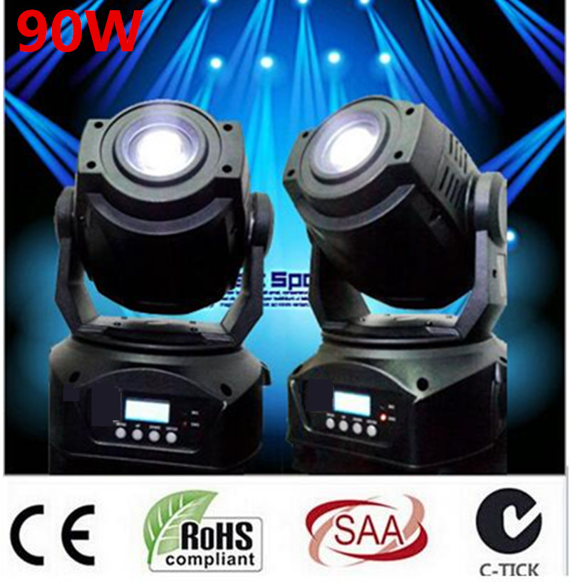 LED 90W Gobo LED Moving Head Light 3 Face Prism DMX Controller 16 Channel for Stage lighting effects Disco Nightclub dj light