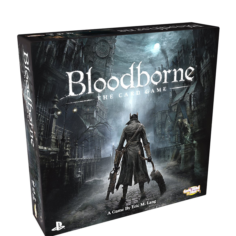 Original PS4 Game Collection Card Paper Bloodborne Play Card Game Action Figure Toy For Man Woman