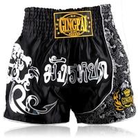 mens mma shorts muay thai shorts boxing trunks for adult women kids training sports mma fight pants kick boxing shorts