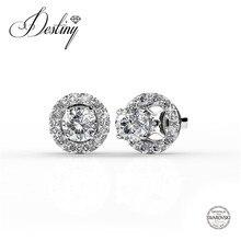 Destino de la Joyería Adornado con cristales de Swarovski pendientes Pendientes pendientes dobles DE0144 Dylis