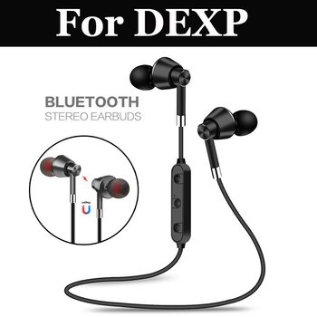 Wireless Bluetooth Stereo Sport Earbuds Earphone with Mic For DEXP AS160 B145 G355 Ixion ES750 GL255 M140 M255 M340 M355 M450
