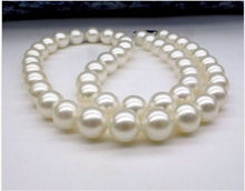 b427b401545b Nueva 9-10mm blanco japonés Akoya perla collar aaaaa +       joyería fina  natural del estilo noble envío libre