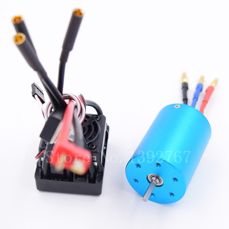 Водонепроницаемый 50A ESC 37017 (03307) 107051 (03302) 3650 бесщеточный 540 Двигатель для 1/10 Р/У машинки Дистанционное управление автомобиля HSP HPI 2-3 S Lipo