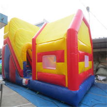 commercial inflatable bouncer trampoline outdoor inflatable fun city YLW-bouncer 173