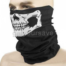 NEW Sport Headband Bike Halloween Skull face mask balaclava Skull Bandana Paintball Ski Motorcycle Helmet Neck Free Shipping