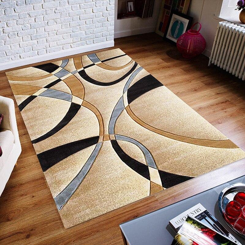 Tapis de géométrie pour salon chambre à coucher tapis décor à la maison tapis d'étude chambre tapis moderne nordique canapé Table basse tapis de sol