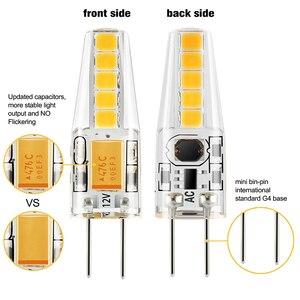 Image 2 - 20 Pack G4 Led lampe 12V AC DC 2W Lampadas LED G4 Lampe 4000K Lampe Bombillas 10LED 2835SMD Ersetzen 20W G4 Halogen Für Kronleuchter