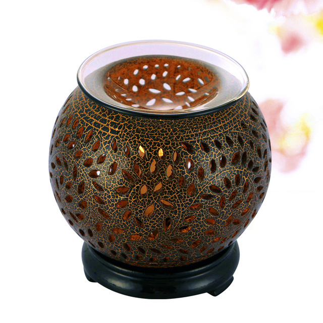 Nice Fasion Electric Fragrance Diffuser Aromatherapy Humidifier Ceramic Fragrance  Lamp Essential Oil Warmer Burner Aroma Therapy