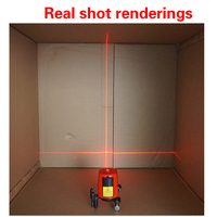 NEW AK435 laser level / handheld / portable / compact red laser 2 wire 1 point with a bright point of the vote line instrument