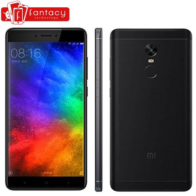 """Оригинальный Xiaomi Redmi Note 4x4x3 ГБ 16 ГБ мобильный телефон Snapdragon 625 Octa Core 5.5"""" 1080 P FHD 13MP отпечатков пальцев ID MIUI 8.5 OTA"""