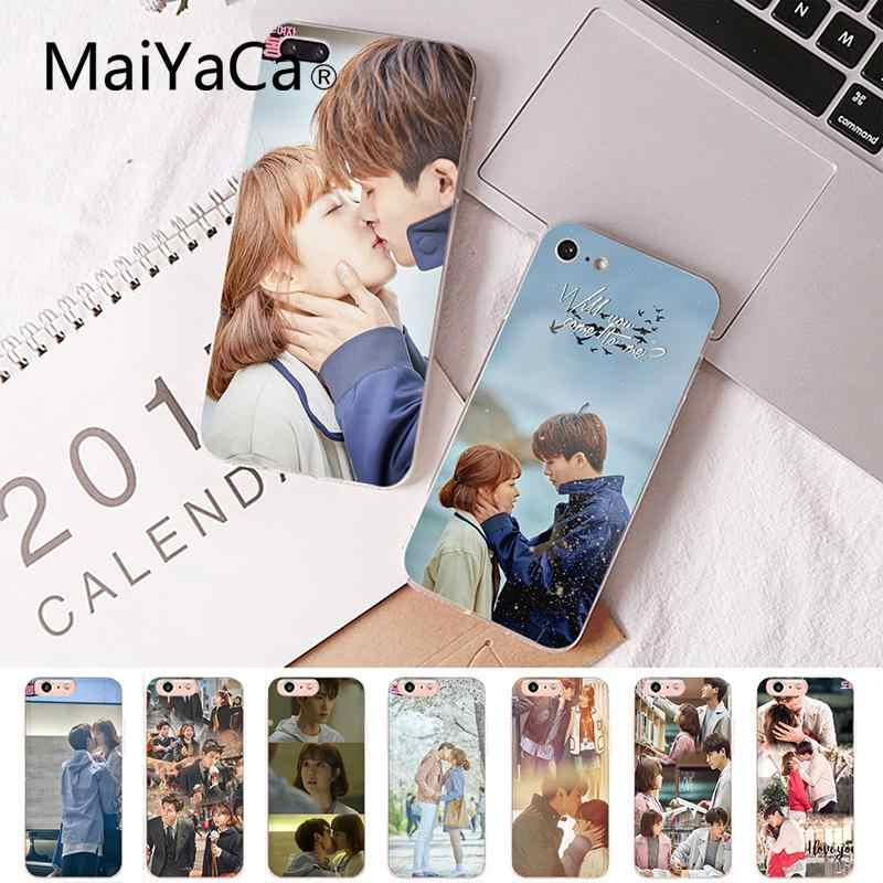 Maiyaca Park Hyung Sik and Park BoYoung Coque Shell Phone Case for iPhone 8 7 6 6S Plus X XS MAX 5 5S SE XR Cover