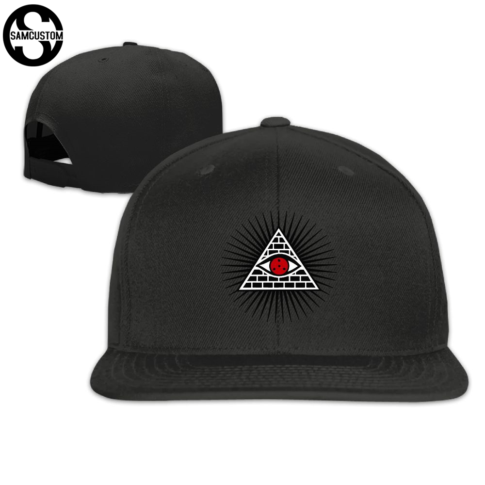 3f2f9ffaff9 Detail Feedback Questions about SAMCUSTOM illuminati eye cap baseball cap  Side 3D printing Casual cap gorras hip hop snapback hats wash cap unisex on  ...