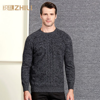 High Grade Men Sweater 2018 New 100% Cashmere Pullovers Winter Warm Jumper O neck Noble Fashion clothes Standard Tops for Male