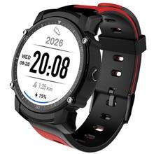 Nova FS08 Relógio Inteligente IP68 À Prova D' Água GPS Rastreador de Fitness Esportes Cronômetro Relógio de Pulso Monitor De Freqüência Cardíaca para Android IOS