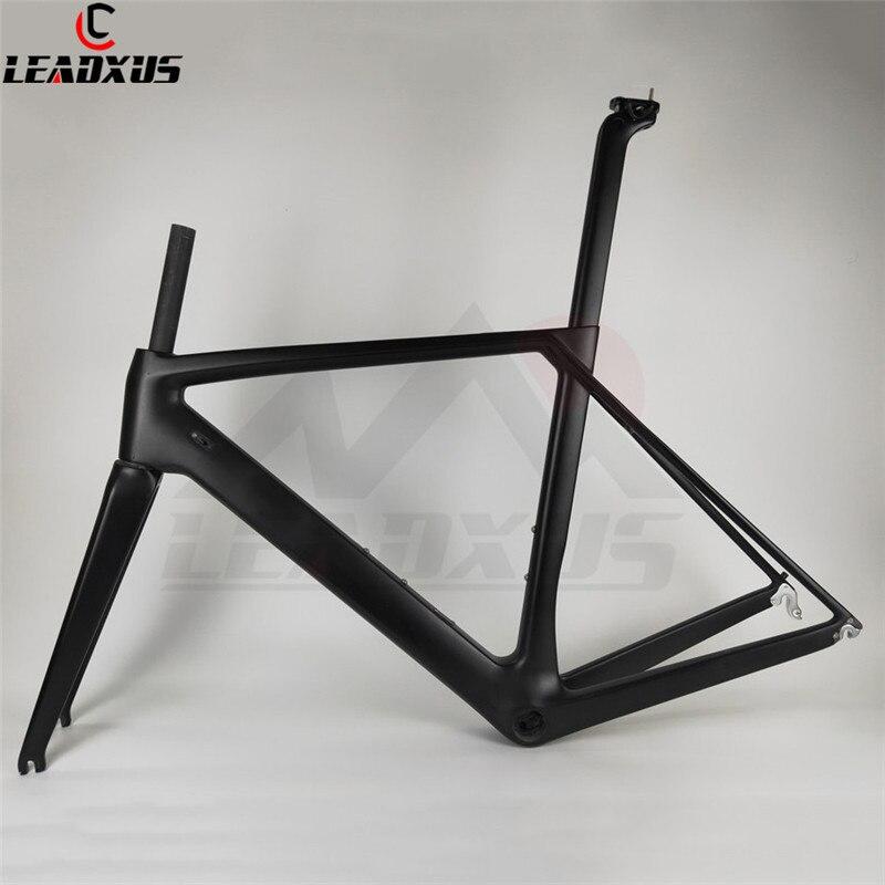 LEADXUS NC260 Carbon Road Bike Frame Carbon Bicycle Frame T800 Carbon Fiber Glossy/Matte Bicycle Frame XS/S/M/L/XL