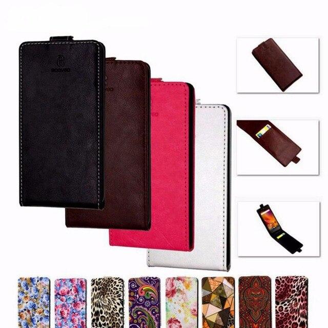 Klassieke Luxe Geavanceerde Top Lederen Flip Lederen case Voor ARK Benefit S502 Plus/ARK S 502 Plus Telefoon Beschermhoes Met Kaartsleuf