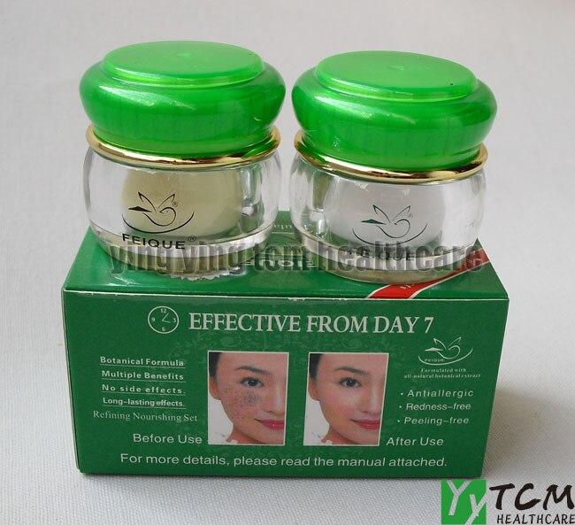 Mango anti freckle face cream skin care whitening cream for face day cream+night cream