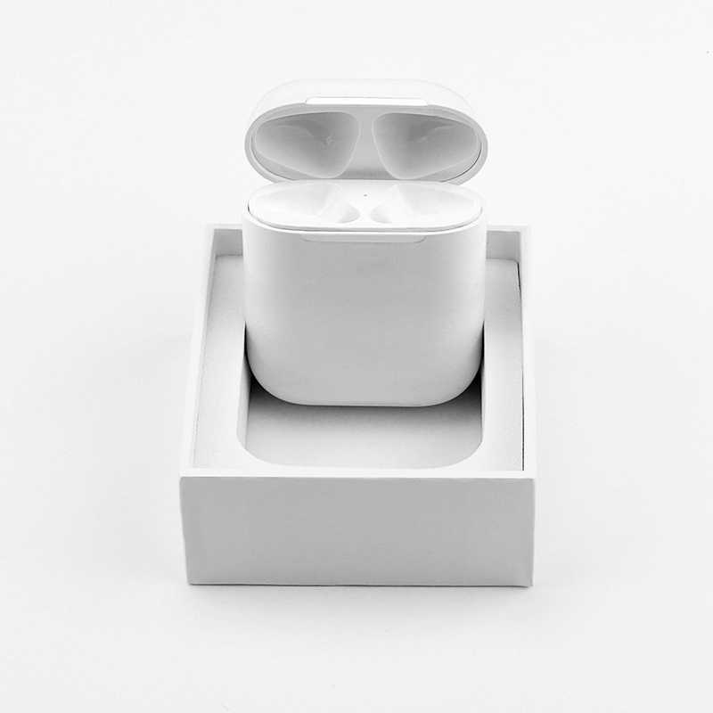 buy popular 92679 2c5ad For Apple Airpods Wireless Charging Receiver Case QI Standard 1:1 replace  Original Airpods Wireless Receiver Wirless Charger