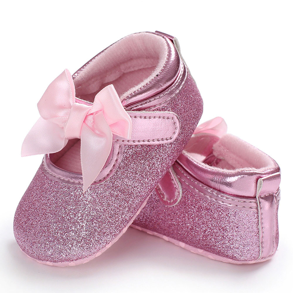 TELOTUNY Baby Infant Kids Girl Soft Sole Crib Toddler Newborn Shoes comfortable Crib Shoes PU Leather S3FEB28