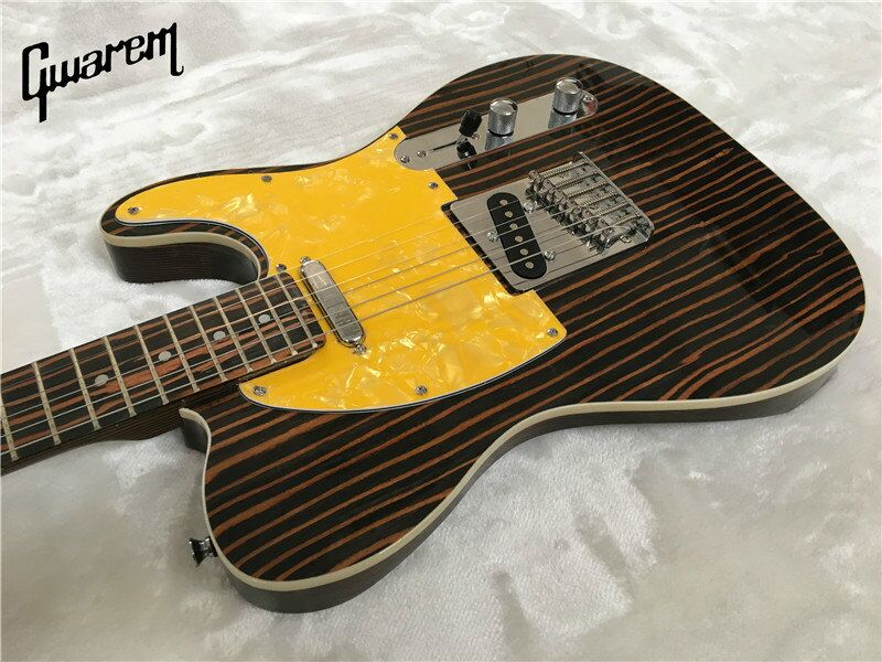 Electric guitar Gwarem luck star tele guitar zebrawood body guitar in china in Guitar from Sports Entertainment