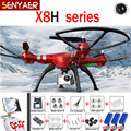 SYMA X8HG X8HW X8HC 2.4G 4CH 6 Axis RC Drones With 8MP Wide Angle HD Camera RC Dron Quadcopter RTF Altitude Hold Mod Helicopters