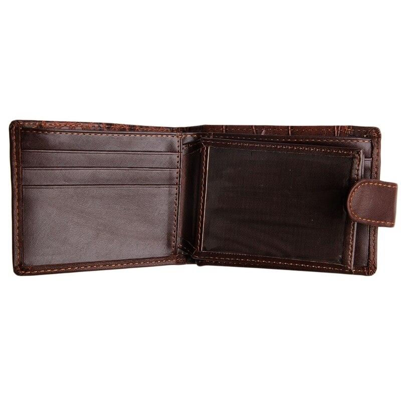 THINKTHENDO Chic Men Leather Wallet Vintage Coin Purse Clutch ID Credit Card Holder Billfold jasmine fashion retro men leather clutch billfold wallet credit id card slim purse nov4