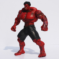 Red and Green Hulk Action Figures Collectible 10inch 5