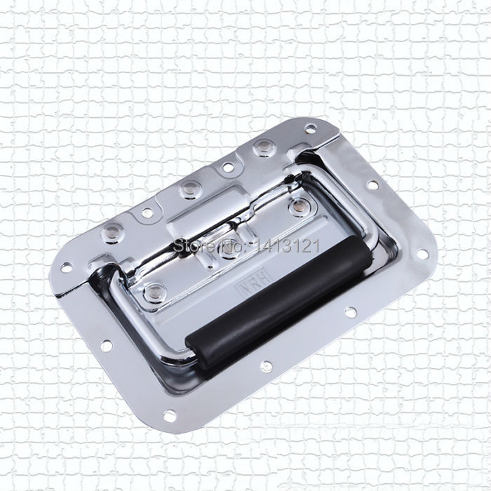 free shipping metal handle bag box hardware part spring handle air box handle toolbox equipmet tool case pull sound handle