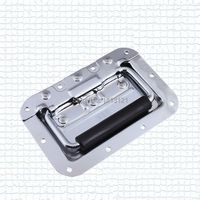 free shipping metal handle bag box hardware part spring handle air box handle toolbox equipmet tool case pull sound handle